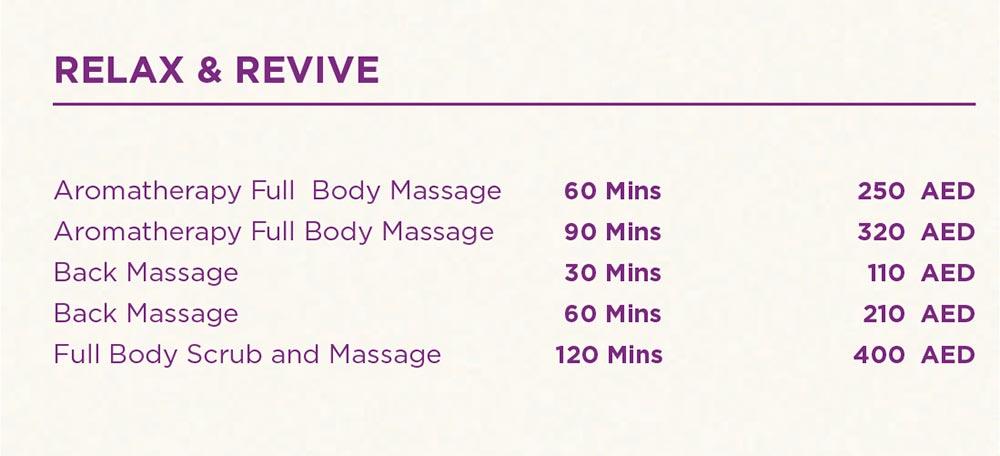 Full Body Massage - Back Massage