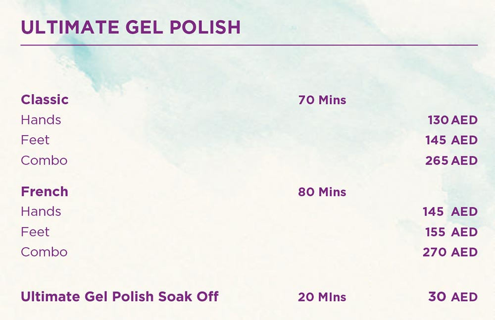 Gel Polish - Manicure - Pedicure - French