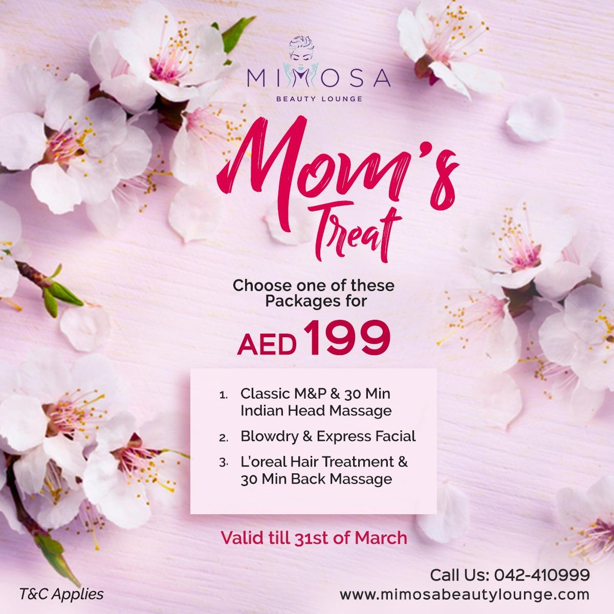 Moms Salon Package