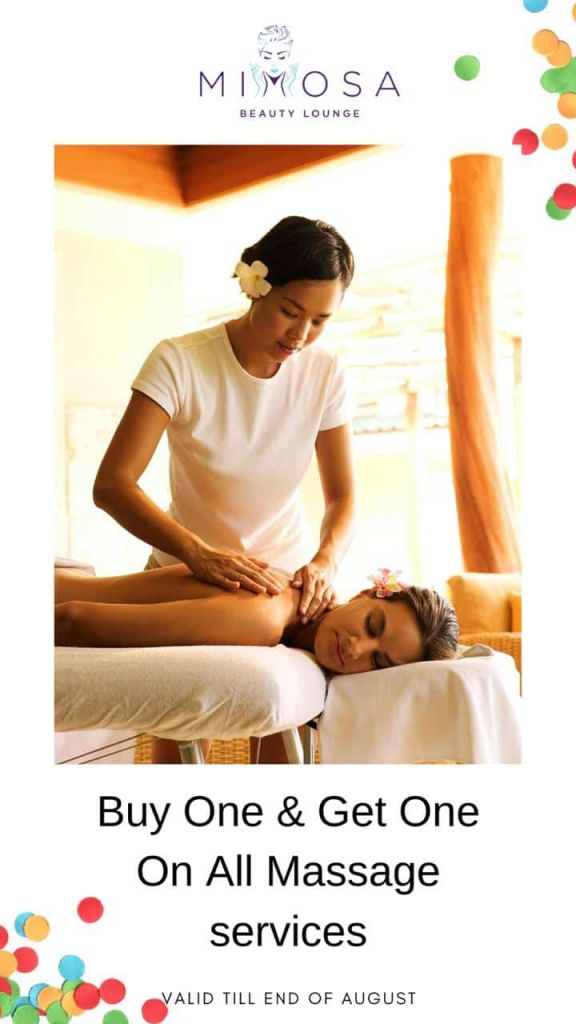 massage august offers